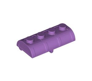LEGO Medium Lavender Treasure Chest Lid 2 x 4 with Thick Hinge (28699 / 29336)