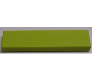LEGO Medium Lime Tile 1 x 4 (2431)