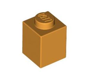 LEGO Medium Orange Brick 1 x 1 (3005)