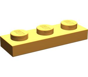 LEGO Medium Orange Plate 1 x 3 (3623)