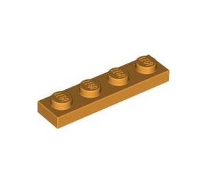 LEGO Medium Orange Plate 1 x 4 (3710)