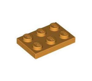 LEGO Medium Orange Plate 2 x 3 (3021)