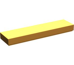 LEGO Medium Orange Tile 1 x 4 (2431)