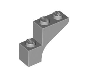 LEGO Medium Stone Gray Arch 1 x 3 x 2 (88292)