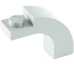 LEGO Medium Stone Gray Arch 1 x 3 x 2 with Curved Top (6005 / 92903)