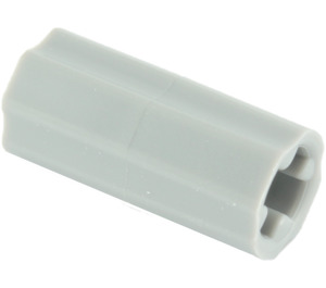 LEGO Medium Stone Gray Axle Connector (Smooth with 'x' Hole) (59443)