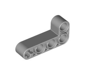 LEGO Medium Stone Gray Beam 2 x 4 Bent 90 Degrees, 2 and 4 holes (32140 / 42137)
