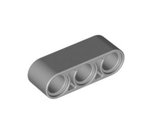 LEGO Medium Stone Gray Beam 3 (32523)