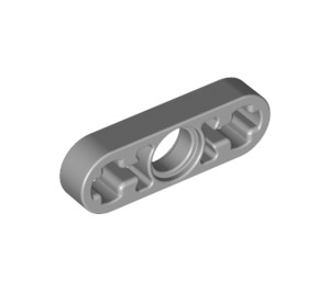 LEGO Medium Stone Gray Beam 3 x 0.5 with Axle Hole each end (6632)