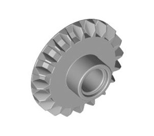 LEGO Bevel Gear with 20 Teeth and Center Pinhole (87407)