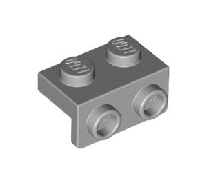LEGO Medium Stone Gray Bracket 1 x 2 - 1 x 2 (99781)