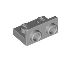 LEGO Medium Stone Gray Bracket 1 x 2 - 1 x 2 Up (99780)