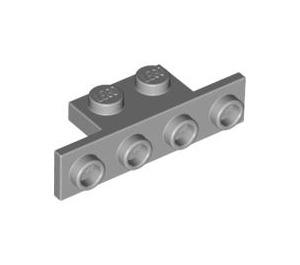 LEGO Medium Stone Gray Bracket 1 x 2 - 1 x 4 without Rounded Corners (2436)