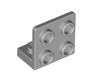 LEGO Medium Stone Gray Bracket 1 x 2 - 2 x 2 Up (99207)