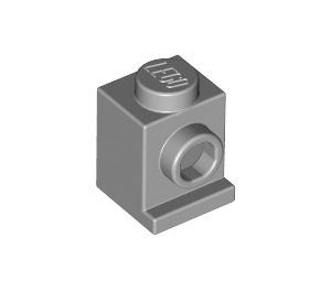 LEGO Medium Stone Gray Brick 1 x 1 with Headlight and No Slot (4070)