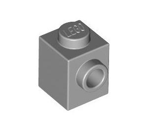 LEGO Medium Stone Gray Brick 1 x 1 with Stud on One Side (87087)