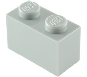 LEGO Medium Stone Gray Brick 1 x 2 (3004)
