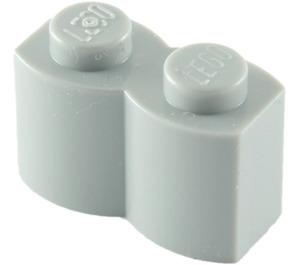 LEGO Medium Stone Gray Brick 1 x 2 Log (30136)
