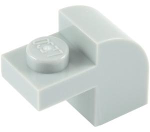 LEGO Medium Stone Gray Brick 1 x 2 x 1.33 with Curved Top (6091 / 32807)