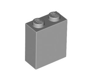 LEGO Medium Stone Gray Brick 1 x 2 x 2 with Inside Axle Holder (3245)
