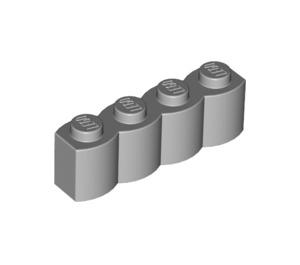 LEGO Medium Stone Gray Brick 1 x 4 Log (30137)