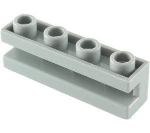 LEGO Medium Stone Gray Brick 1 x 4 with Groove (2653)