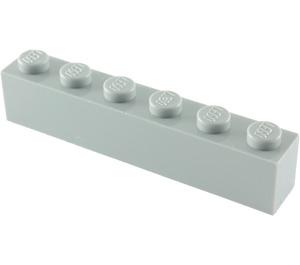 LEGO Medium Stone Gray Brick 1 x 6 (3009)