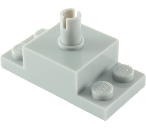 LEGO Medium Stone Gray Brick 2 x 2 with Vertical Pin and 1 x 2 Side Plates (30592 / 42194)