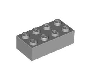 LEGO Medium Stone Gray Brick 2 x 4 (3001)