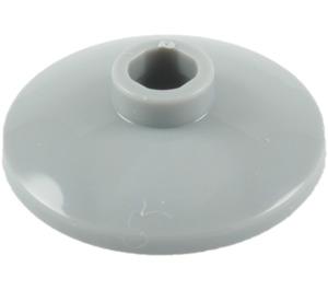 LEGO Medium Stone Gray Dish 2 x 2 Ø16 Inverted (4740)