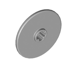 LEGO Medium Stone Gray Disk 3 x 3 (2723)