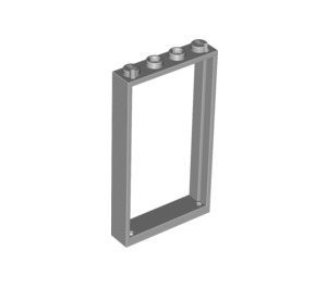 LEGO Medium Stone Gray Door Frame 1 x 4 x 6 Single Sided (40289 / 60596)