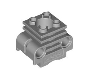 LEGO Engine Cylinder with Slot between Pinholes (2850 / 32061)