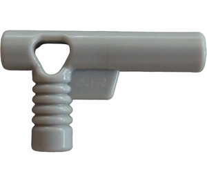 LEGO Medium Stone Gray Minifig Hose Nozzle with Side String Hole without Grooves (60849)