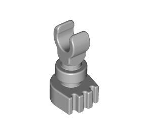 LEGO Medium Stone Gray Minifig Skeleton Leg (6266 / 31733)