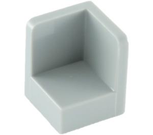 LEGO Medium Stone Gray Panel 1 x 1 x 1 Corner with Rounded Corners (6231)