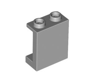 LEGO Medium Stone Gray Panel 1 x 2 x 2 with Side Supports, Hollow Studs (87552)
