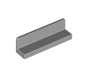LEGO Medium Stone Gray Panel 1 x 4 x 1 with Rounded Corners (15207 / 43337)