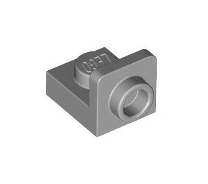 LEGO Medium Stone Gray Plate 1 x 1 with 1/2 Bracket (36840)