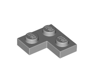 LEGO Medium Stone Gray Plate 2 x 2 Corner (2420)