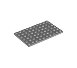 LEGO Medium Stone Gray Plate 6 x 10 (3033)