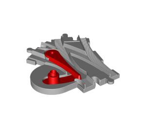 LEGO Medium Stone Gray Points Manually (51560)