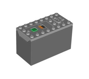 LEGO Medium Stone Gray Power Functions Rechargeable Battery Box (64228 / 84599)