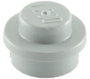 LEGO Medium Stone Gray Round Plate 1 x 1 (6141)