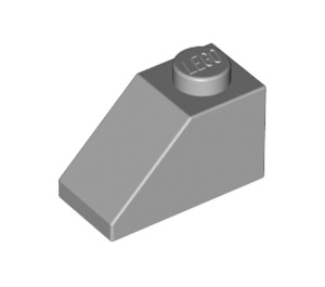 LEGO Medium Stone Gray Slope 1 x 2 (45°) (3040)