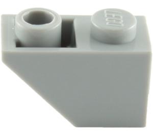 LEGO Medium Stone Gray Slope 1 x 2 (45°) Inverted (3665)