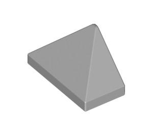 LEGO Medium Stone Gray Slope 1 x 2 (45°) Triple with Inside Stud Holder (15571)