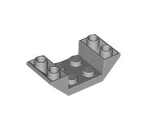 LEGO Medium Stone Gray Slope 45° 4 x 2 Double Inverted with Open Center (4871)