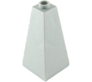 LEGO Medium Stone Gray Slope 73° (75) 2 x 2 x 3 Double Slope (3685)