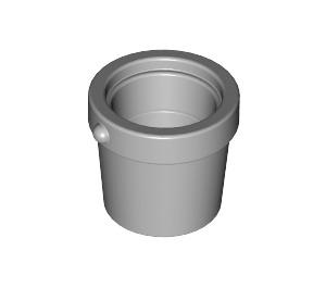 LEGO Medium Stone Gray Small Bucket (95343)